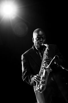 Maceo Parker by Zdenko Hanout - #jazz #people #celebrity