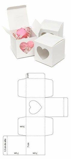 Visita mi sitio web y descarga el molde – Diy Geschenkbox, Geschenkbox Vorlage,… – The Unique Valentine's Day Gifts Paper Crafts Origami, Diy Origami, Paper Crafting, Origami Ideas, Origami Heart, Christmas Cookies Packaging, Papier Diy, Diy Crafts For Gifts, Paper Hearts