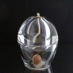 Diffuseur de parfum ou lampe à huile coquillage architectonica.