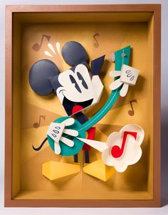 He Sings, He Dances by Matthew Hawkins, via Behance