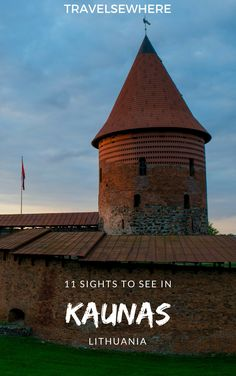 11 Sights To See in Kaunas, Lithuania - Travelsewhere Europe Destinations, Places In Europe, Holiday Destinations, Backpacking Europe, Europe Travel Guide, Travel Guides, Ukraine, Lithuania Travel, Poland Travel