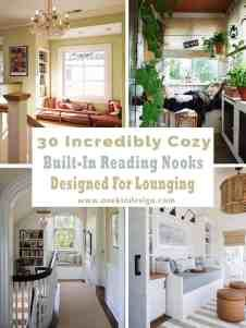 52 Incredibly fabulous breakfast nook design ideas Dream Rooms, Home Gym Design, Home Libraries, Cozy Living Spaces, Breakfast Nook, Sleeping Nook, Cozy Reading Nook, Reading Nook, Corner Reading Nooks