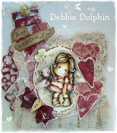 Tilda with Fantasy Flower / Debbie Dolphin