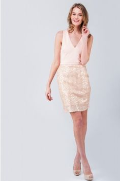 Make an impact with romantic, feminine garments from the Envy range, with beautiful ruffled dresses & lace Bardot tops. Sequin Dress, Ruffle Dress, Lace Skirt, Bardot Top, Jane Norman, Going Out Dresses, Feminine, Nude, Virtual Closet