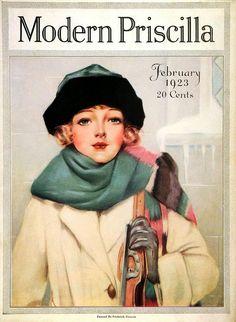 VINTAGE BLOG: Modern Priscilla 1923  Beware flappers with guns!  LOL