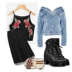 """Untitled #26"" by afivahapriani on Polyvore featuring Topshop and Marc Jacobs"