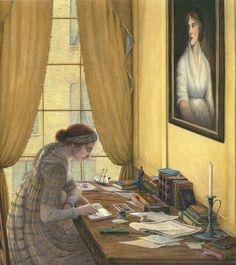 Mary Shelley by Angela Barrett
