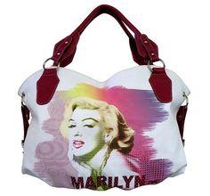Licensed Marilyn Monroe Hobo Purse