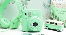 Fujifilm Instax Mini 8+ (Mint) Instant Film Camera + Self Shot ... | Mint green | Pinterest | Film Camera, Selfie and Film
