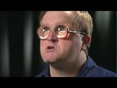 Bubbles from Trailer Park Boys on Hockey Night in Canada...  He Fought Tie Domi!