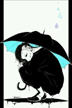 Uta en la lluvia