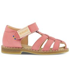 Sandale Kavat piele - Forsvik Strawberry Rose - HipHip.ro Strawberry Roses, Kids, Shoes, Fashion, Sandals, Bamboo, Young Children, Moda, Boys