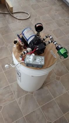DIY 12 Volt On-Demand Water Pump System: 8 Steps (with Pictures) Diy Water Pump, Water Pump System, Solar Water Pump, Water Systems, Grey Water System Diy, House Water Filter, Off Grid Cabin, Diy Tech, Solar Generator