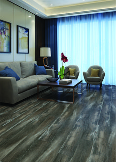 Color: Crescent  ScubaTech™ combines the beauty of natural hardwood with the durability of laminate flooring plus the added benefit of water resistance.