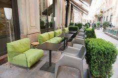 The Park Bar #hyatt #kartell #milandesignweek