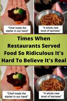 Times When #Restaurants #Served Food So #Ridiculous It's Hard To Believe It's #Real