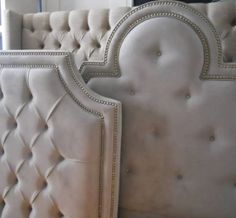 Eye For Design: Decorating With Tufted Headboards
