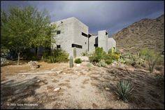 Stunning minimalist, modern custom built concrete home, nestled in the San Tan mountains in San Tan Valley, AZ .