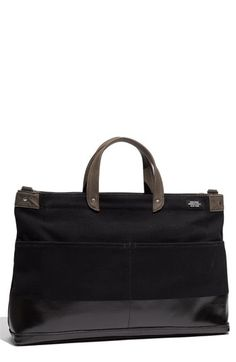 For my birthday please. only $245. Jack Spade 'York Industrial' Canvas Dipped Briefcase available at Nordstrom