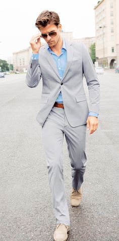 grey suit different shirt but would be greatforour wedding