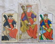 Marseille Tarots : Renan, Pierre Madenie, CBD Tarot - Queen of Wands - Botok királynője - Tarot tanfolyam indul 2018 őszén, részletek a blogon