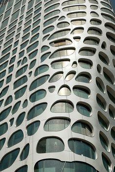 Conrad Hotel, Beijing  MAD Archtects, 2012   by trevor.patt, via Flickr