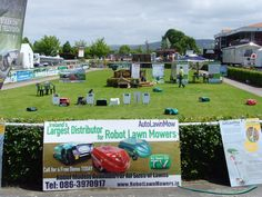 Robot Lawn Mower Trade Show display 2012. Visit www.robotlawnmowers.co.uk