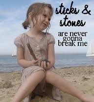 Never gonna break me.