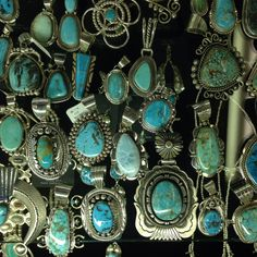 Native American Sterling silver jewelry.