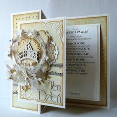 kartkulec: ślub Wedding Cards, Wedding Day, Card Creator, Paper Crafts, Card Crafts, Card Making, Quilling, Inspiration Cards, Frame