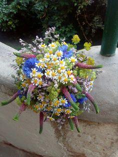 Letní svatební kvetina