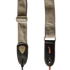 Tan guitar strap