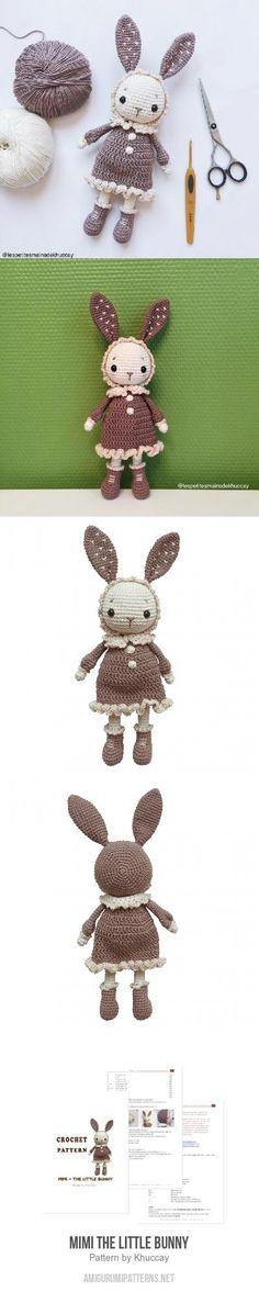 Mimi The Little Bunny Amigurumi Pattern