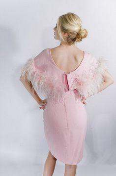 vintage angel pink dress