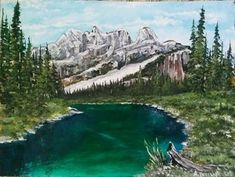 Portfolio Gallery for Al Budarin Impressionist Paintings, Rocky Mountains, Waterfalls, The Great Outdoors, Landscapes, Places To Visit, Display, River, Gallery