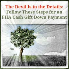 Fha Mortgage, Mortgage Tips, Fha Loan, Down Payment, Home Buying Tips, Real Estate Tips, How To Dry Basil, Devil, Gifts