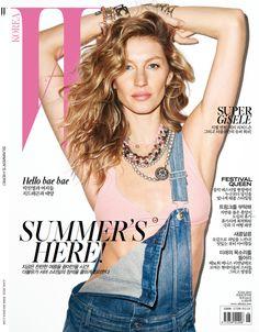 Gisele Bündchen by Terry Richardson for W Magazine Korea June 2015 5