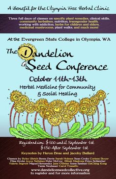 Dandelion Seed Conference