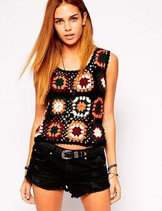 os Achados   Moda   Crochê Love