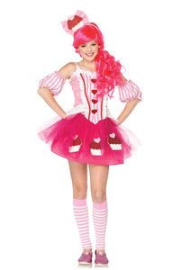 Teen Girls Katy Perry Cupcake Cutie Dress Outfit Kids Juniors Halloween Costume  sc 1 st  Pinterest : katy perry costume kids  - Germanpascual.Com
