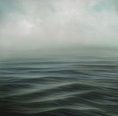 Water: Oscillate #476, 2011 I Oil on panel I 12 x 12 inches.Louise LeBourgeois