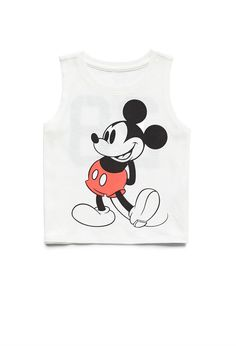 Mickey Muscle Tee (Kids) | FOREVER21 #F21Girls  #LoveMickeyMouse
