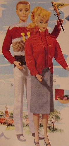 Barbie & Ken-I have both these dolls and both of these outfits.