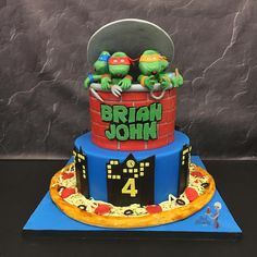 Cake salmon, leeks and dill - Clean Eating Snacks Ninja Turtle Party, Salty Cake, Smoked Salmon, New Years Eve Party, Savoury Cake, Teenage Mutant Ninja Turtles, Custom Cakes, Original Recipe, Clean Eating Snacks
