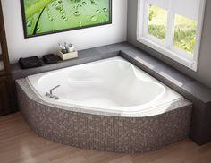 freestanding tub in corner   ... corner bathtub series cocoon 6636 bathtub murmur 5555 corner bathtub