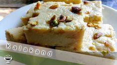 2 Ingredients Instant Kalakand Recipe / Mouth Watering Easy Dessert - YouTube Kalakand Recipe, Condensed Milk Desserts, 2 Ingredients, Pistachio, Easy Desserts, Ricotta, Banana Bread, Youtube, Recipes