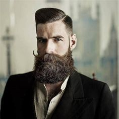 Beard Growth Oil and Balm in regular and extra strength, growth spray, mustache growth oil, grooming kits. Best beard growth made with organic ingredients. Beard Oil And Balm, Beard Balm, Mustache Growth, Mustache Wax, Moustache, Types Of Facial Hair, Sexy Bart, Beard Growth Kit, Hairstyles