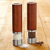 Cole & Mason Wood Electric Salt & Pepper Mills