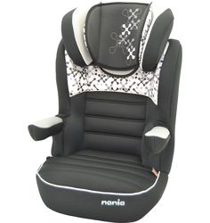 Nania Rway SP Luxe High Back Booster Car Seat - Corail Black
