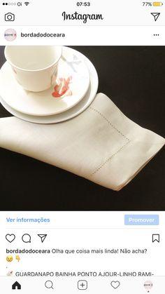 Olha que coisa mais linda! Não acha? 😉👇 . 🔖 GUARDANAPO BAINHA PONTO AJOUR-LINHO RAMI-BEGE (50X50CM) Disponibilidade: Imediata  Referência: bc013 . VENDAS / SAC: 📳 85 98959-9107 (WhatsApp) 🔗 bordadosdoceara.com.br  FORMA DE PAGAMENTO: 💳 até 10 X SEM JUROS no cartão. 💵 Desconto à vista (Boleto, Transferência ou cartão)